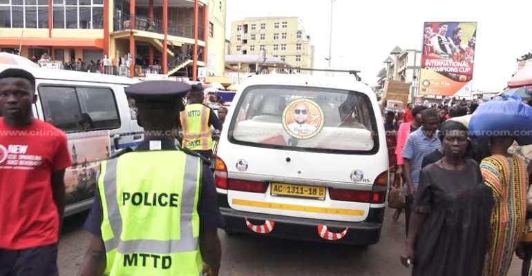 Konongo-Odumase MTTD Vows To Arrest Long-Distance Drivers Without Spare Parts