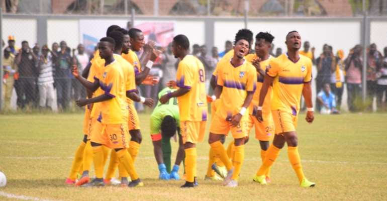 Medeama SC Defeat Eleven Wonders 2-0 To Keep Title Hopes Intact
