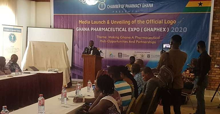 Chamber Of Pharmacy Ghana Launches GHAPHEX 2020 In Accra