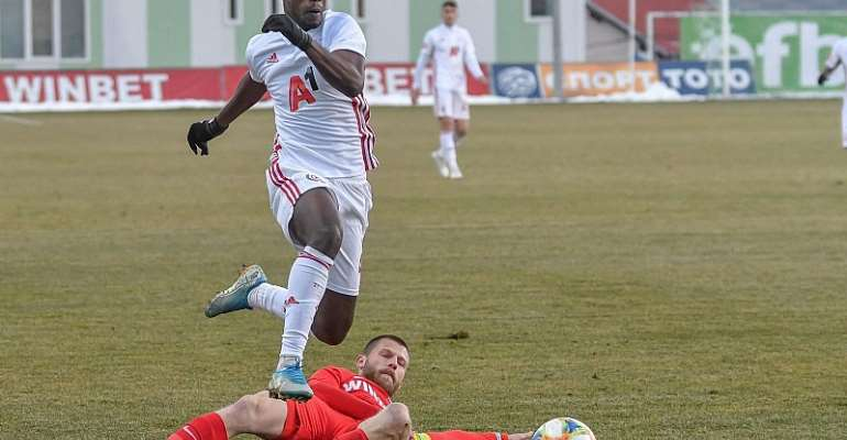 Edwin Gyasi Stars Despite CSKA Sofia Lose To Tsarsko Selo In Bulgaria [PHOTOS]