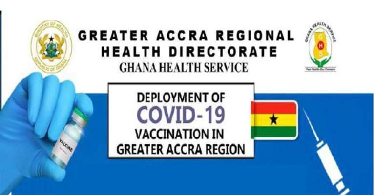 GHS lists Covid-19 vaccination sites in Accra