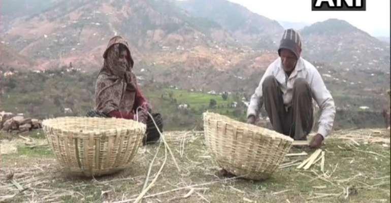 Bamboo weavers from J&K's Ghordi Khas East village seek govt help to grow business