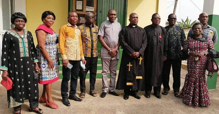 EPUC, a world class institution soon - EP Church Moderator