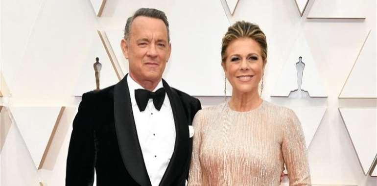 Tom Hanks and his wife, Rita Wilson