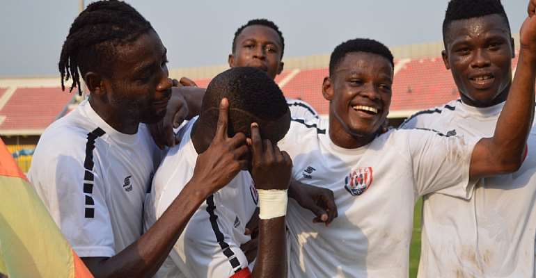 Inter Allies Earn A Hard Fought 3-2 Win Against Liberty At Dansoman