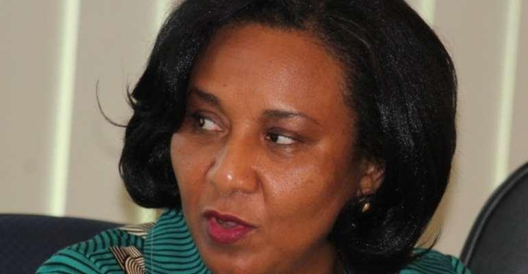 A former Deputy Minister of Finance, Mona Quartey