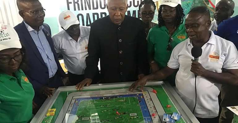 Frindo Soccer Board Game Launched In Accra