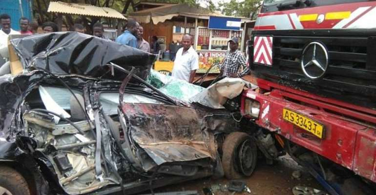 Stephen Bernard Donkor: Road accident more deadly than Covid-19