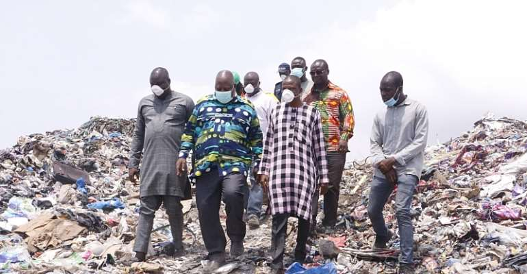 Danger Looms Over Kpone Landfill Site As Youth Threaten Protest