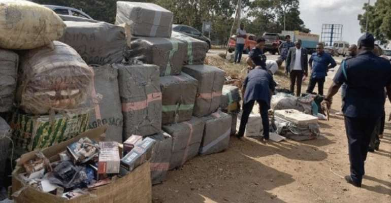 Truck Impounded With Unwholesome Pharmaceutical Products, Wax Prints