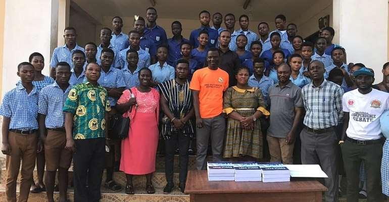CEBSAR-AFRICA Donates To Ejuraman SHS