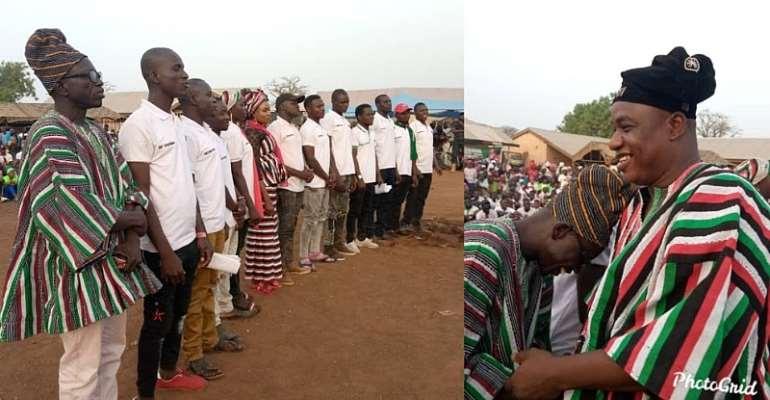 Karaga MP Captures, Inducts NPP Defector Into NDC