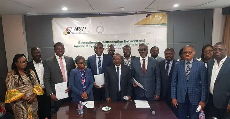 CHRAJ, Others Sign MoU To Fight Corruption And Crimes