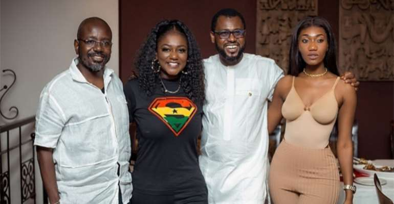 Abeiku Santana, Wendy Shay, others surprise Dentaa Amoateng on her birthday celebration