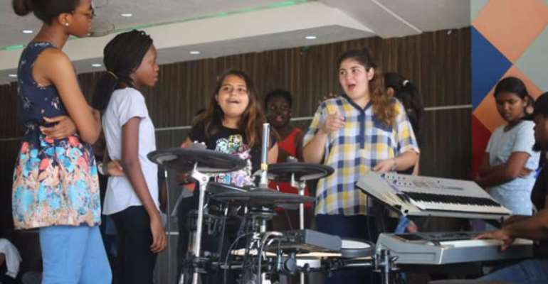 GIS celebrates 10th Anniversary Musical with