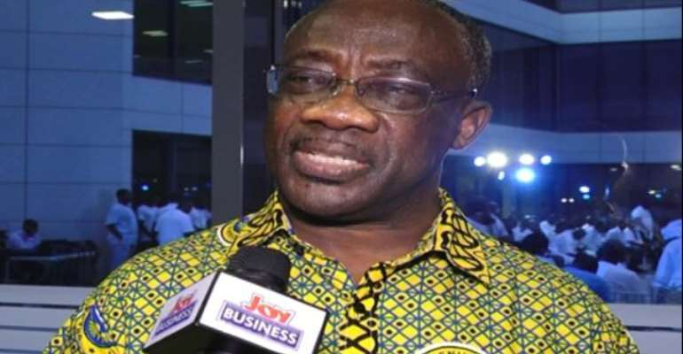 Commissioner General of GRA, Emmanuel Kofi Nti