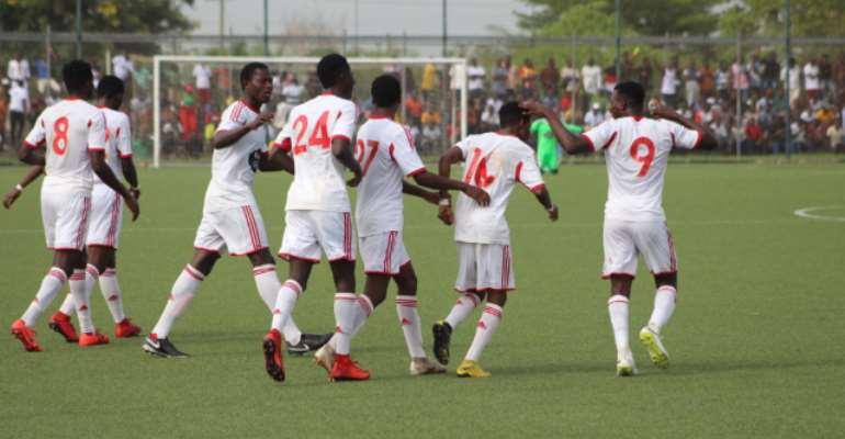 Berekum Chelsea 1-2 WAFA: Academy Boys Shock Blues In Berekum