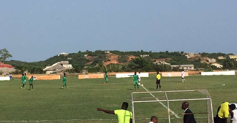 Augustine Owusu's Brace Power Elmina Sharks To Beat Dreams FC 2-1