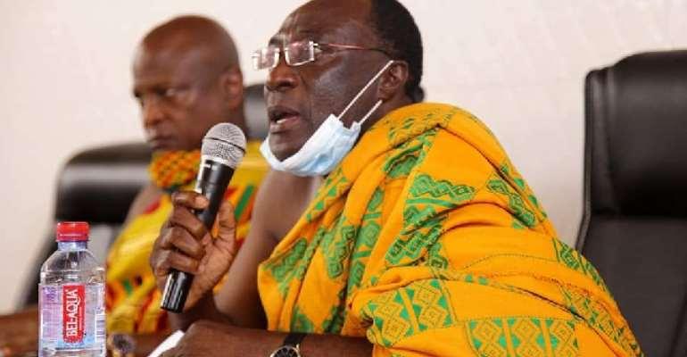 President of the Volta Regional House of Chiefs,President, Togbe Tepre Hodo IV