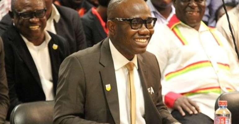 Breaking News: Ghana FA president Kwesi Nyantakyi wins FIFA Council elections