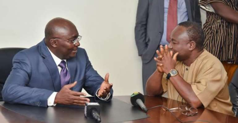 Don't bow to pressure, not even from President – Bawumia urges procurement authority