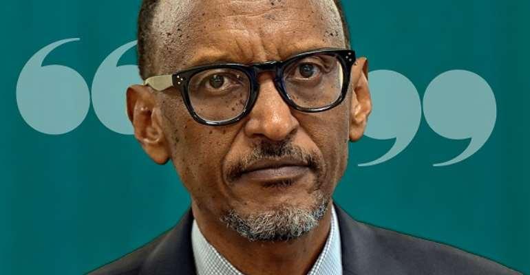 Paul Kagame, the president of Rwanda