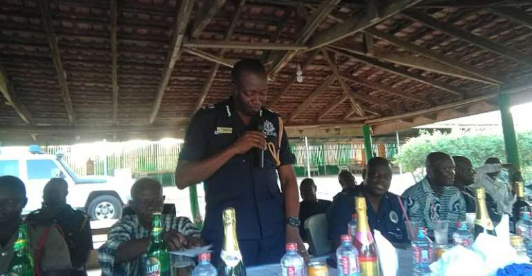 Election 2020: Swedru Police Command Assures Political Parties Of Professionalism