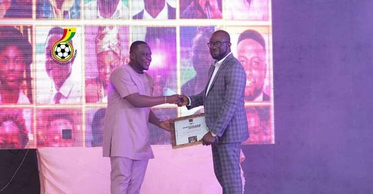 UPSA Honours Ghana FA Capo Kurt Okraku