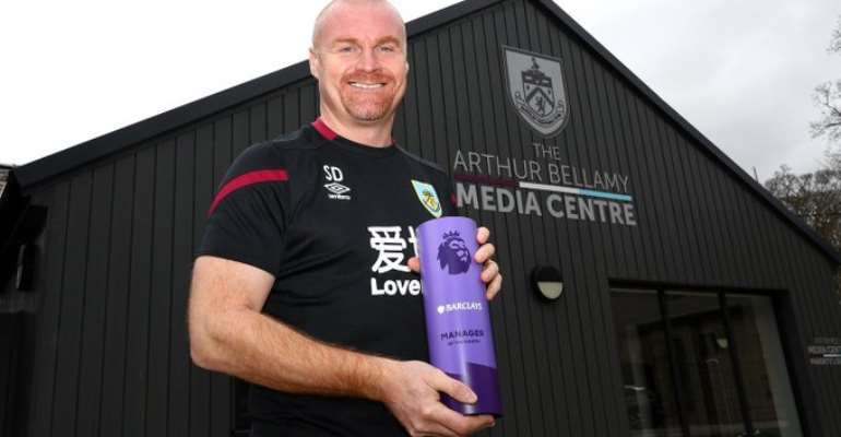 Dyche Named Premier League Manager Of The Month