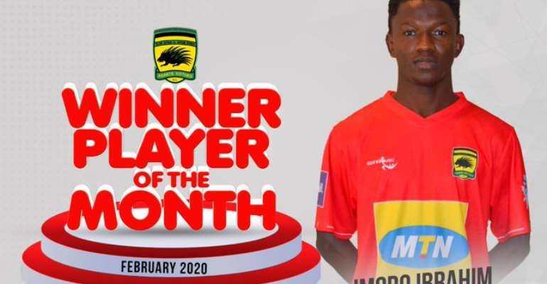 Defender Imoro Ibrahim Adjudged Kotoko Player Of The Month For February