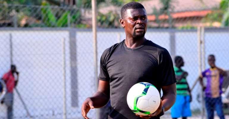 Medeama head coach Samuel Boadu