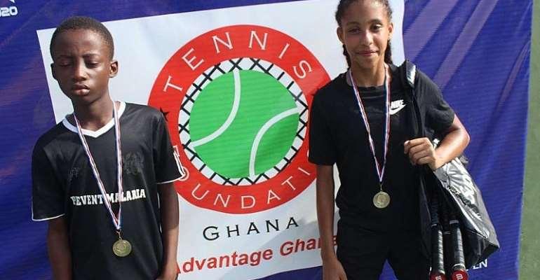 Eben Quaye And Akua Akoma Win TFG U12 Open