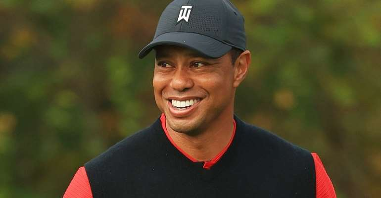 Tiger Woods returns home after three weeks of serious car crash