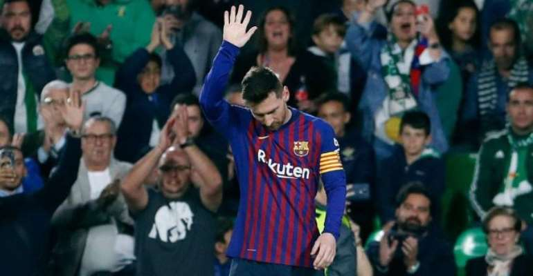 Messi Humbled By Betis Fans' Standing Ovation