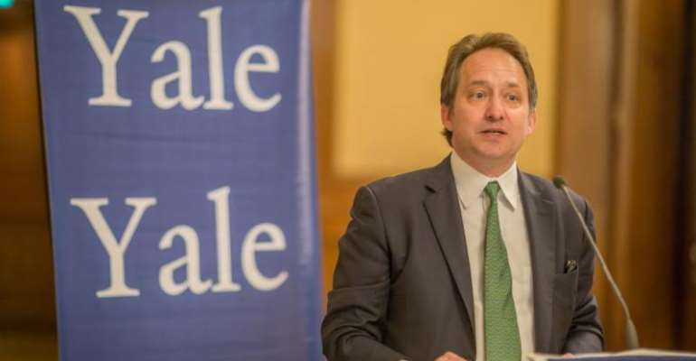 Yale Vice President Visits South Africa