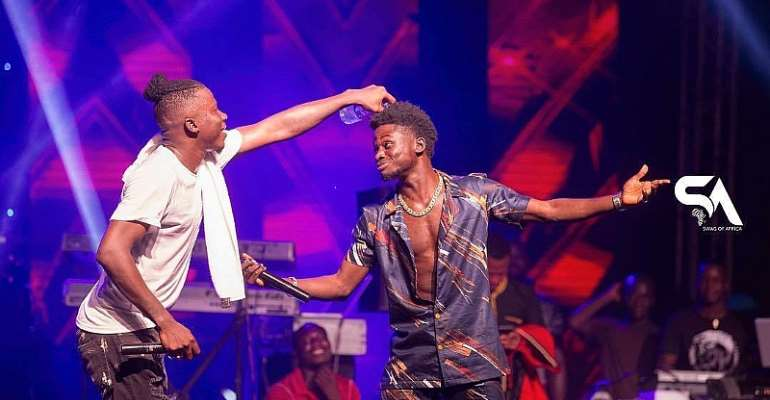 VGMA Artiste Of The Year;Stonebwoy is a threat to Kuami Eugene's crown - Attractive Mustapha