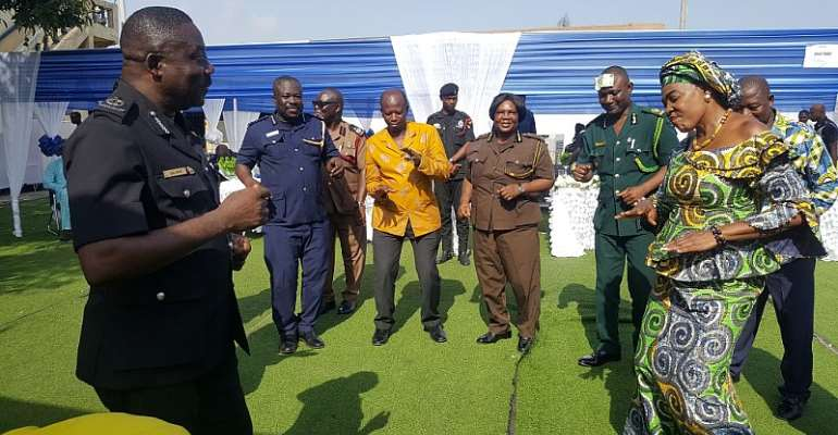 Accra: 17 Police Officers Punished