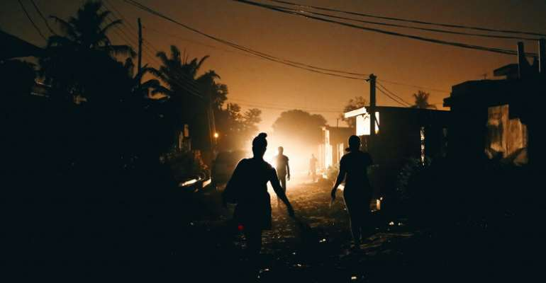 Dumsor Visits Accra Again As Angry Citizens Stay Indoors Over Akufo-Addo Ban