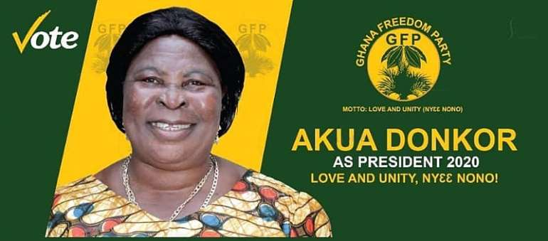 Akua Donkor's Ghana Freedom Party Suspends Congress Amid COVID-19 Scare