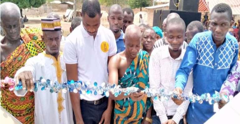Bre Nye Kwa Community Gets Mechanized Borehole