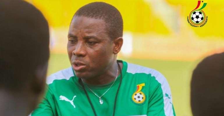 Black Maidens Head Coach Baba Nuhu