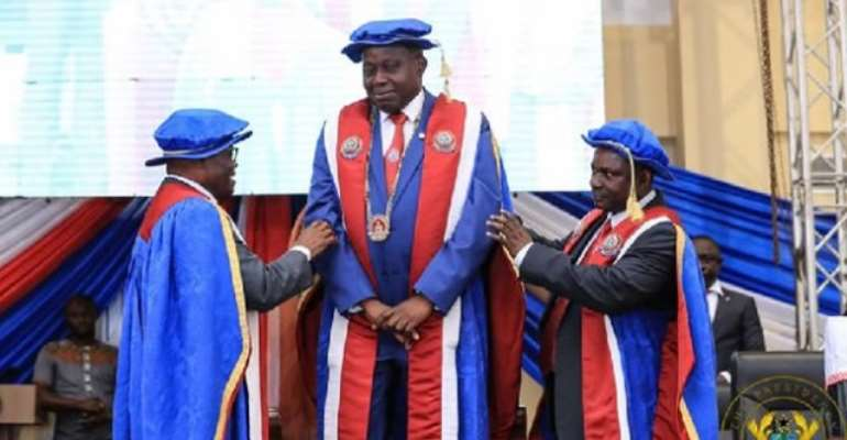 The Governing Council says Prof. Afful-Broni has theirfull support to finish his term which ends 2022.