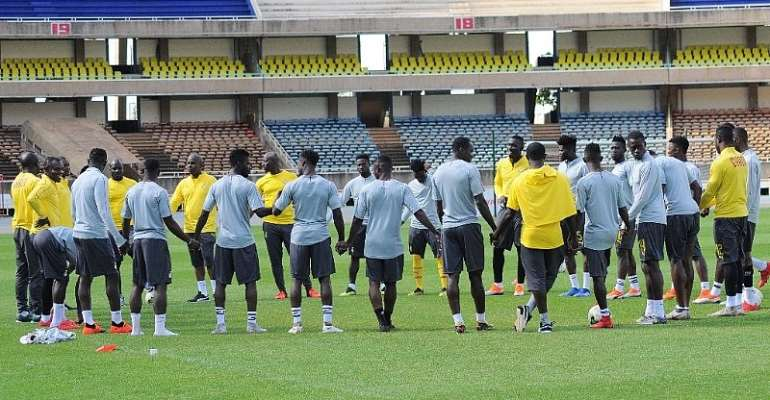 Black Stars To Start Training Today At Accra Sports Stadium Ahead Of Kenya Clash
