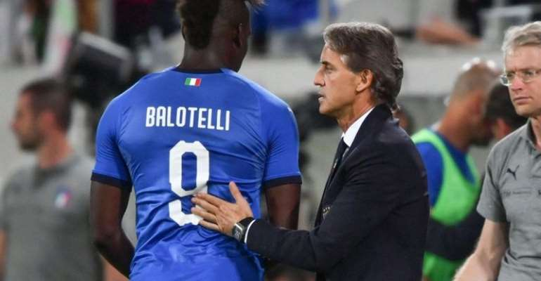 Balotelli Not Fit Enough To Play For Italy – Mancini
