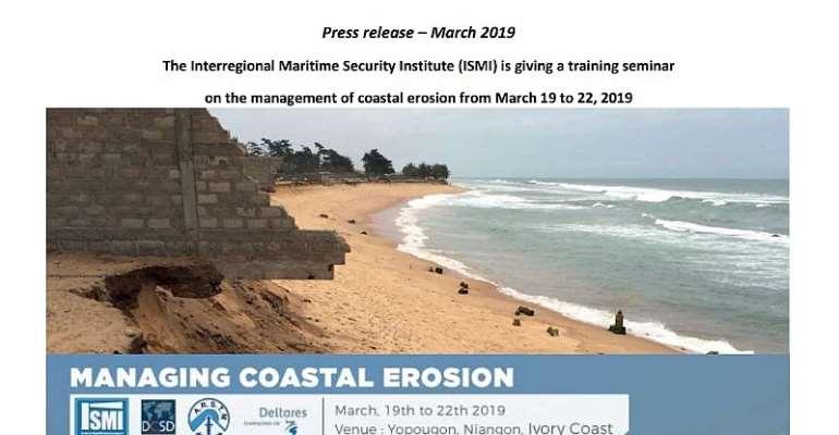 ISMI Trains 30 Officers On Coastal Erosion Management
