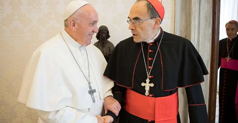 Vatican Media/Handout via REUTERS
