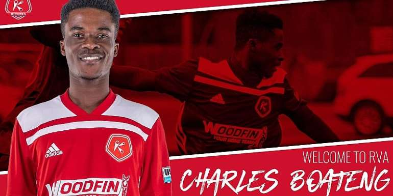 Charles Boateng Completes Loan Move To USL Side Richmond Kickers