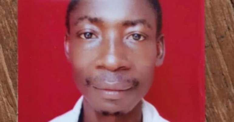 Picture Of The Man Who Killed Emmanuel Agyemang Badu's Sister Emerges
