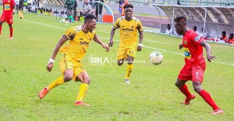 It Would Be An Honour To Play For Kotoko, Says Ashantigold Midfielder Latif Anabila