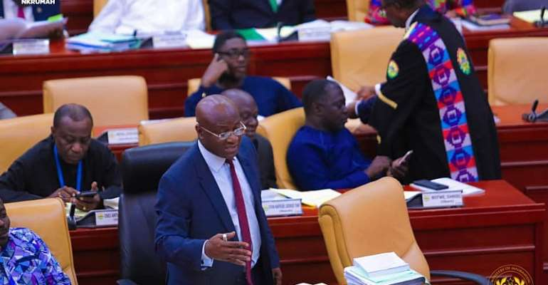 Punish Persons Stealing Hand Sanitisers In Parliament — Majority Leader